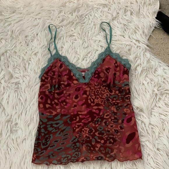 3/$20 LA VIE EN ROSE chemise tank top, size medium
